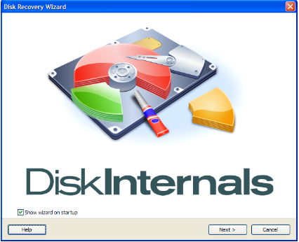 Disk Recovery Wizard by DiskInternals