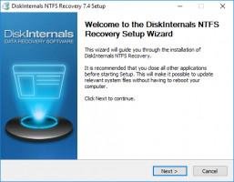 DiskInternals NTFS Recovery - lanzar la versión de prueba gratuita