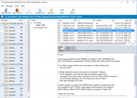 Outlook Recovery - preview outlook file before recovery