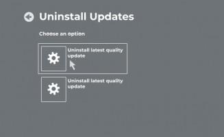 Uninstall Windows 10 update.