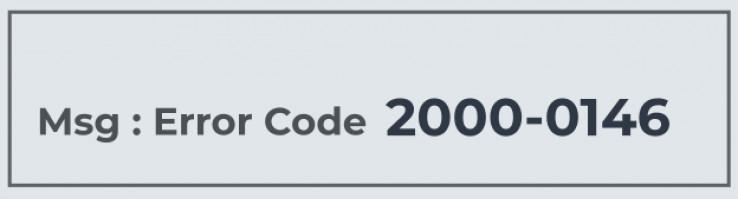 2000-0146 error.