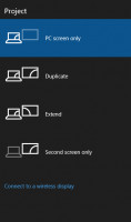 Try Duplicate or Extend to fix HDMI issue