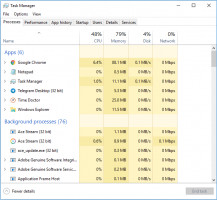 Use Task Manager to fix Windows 10 black screen with cursor issue