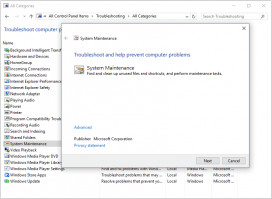 Try troubleshooter to fix incorrect configuration on Windows