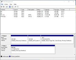 Disk Management - abrir la gestión de discos.