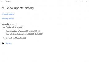 How To Delete Recent Update?