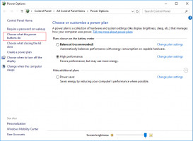 Use Power Options to fix Windows 10 black screen with cursor issue