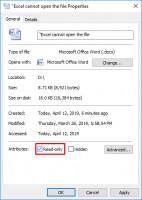 Prüfen Sie, ob die Dateien schreibgeschützt sind.
