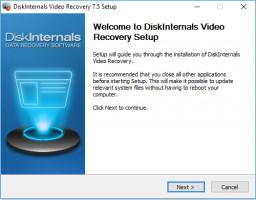 Video Recovery - Setup window.