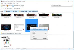 Video Recovery - So zeigen Sie eine Vorschau des gelöschten Videos an, bevor Sie es wiederherstellen.