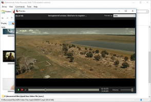 Video Recovery - Preview the restored video